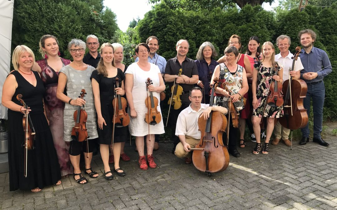 Das Orchester hat Sommerpause