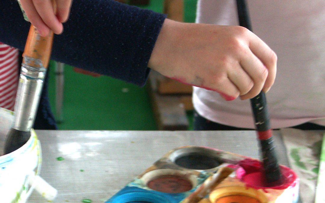 Kunstkurse an der KMDW – Malen und Zeichnen