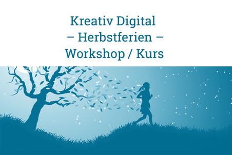 Kreativ Digital – Workshop – Herbstferien